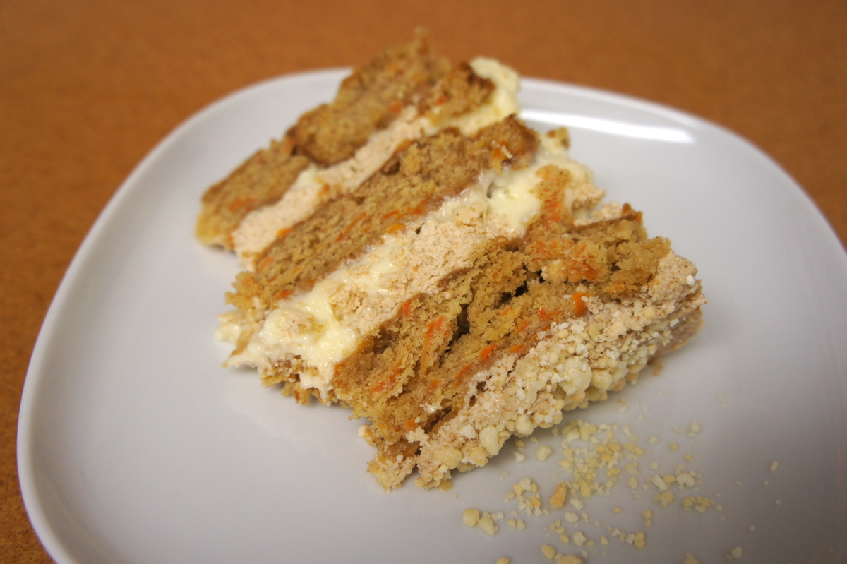 Roadmap To Momou Carrot Layer Cake With Cookies Along
