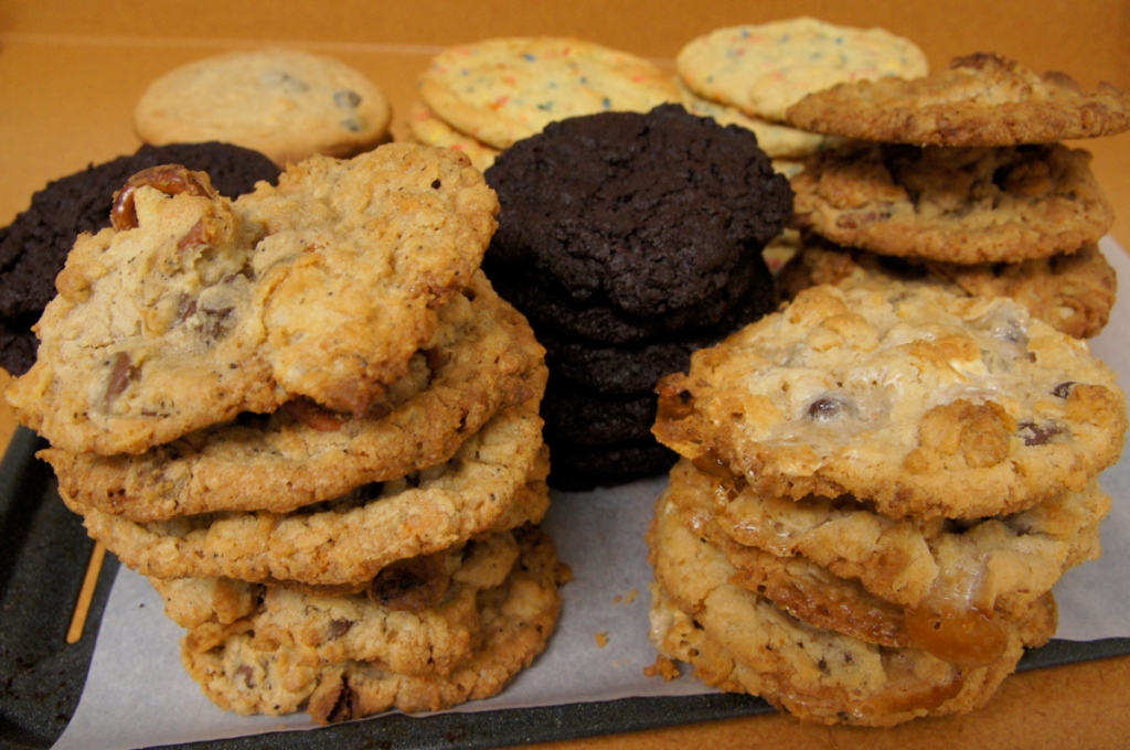 Momofuku Milk Bar's Blueberry And Cream Cookies Recipes — Dishmaps
