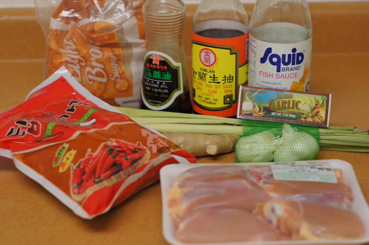 Recipe Review: Cold Rice Noodles with Grilled Chicken and Peanut Sauce ...