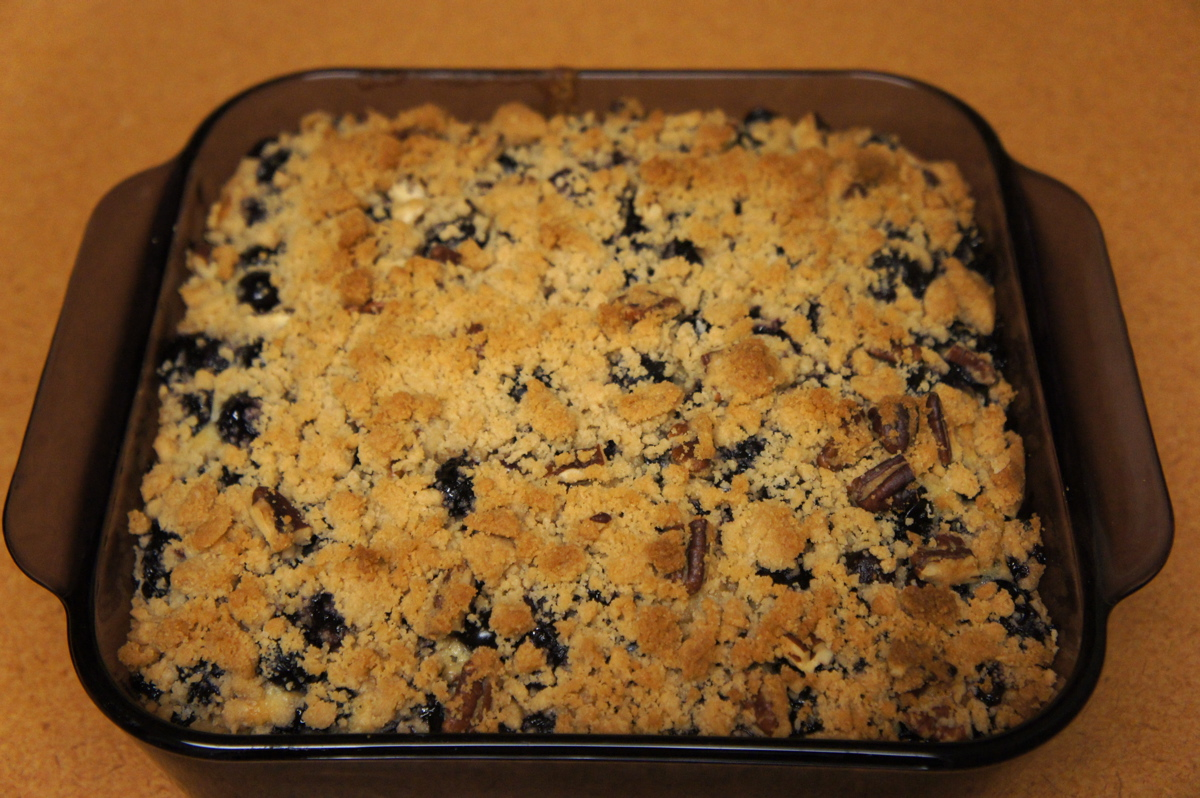 Recipe Review: Old-Fashioned Blueberry Coffee Cake | testerfoodblog