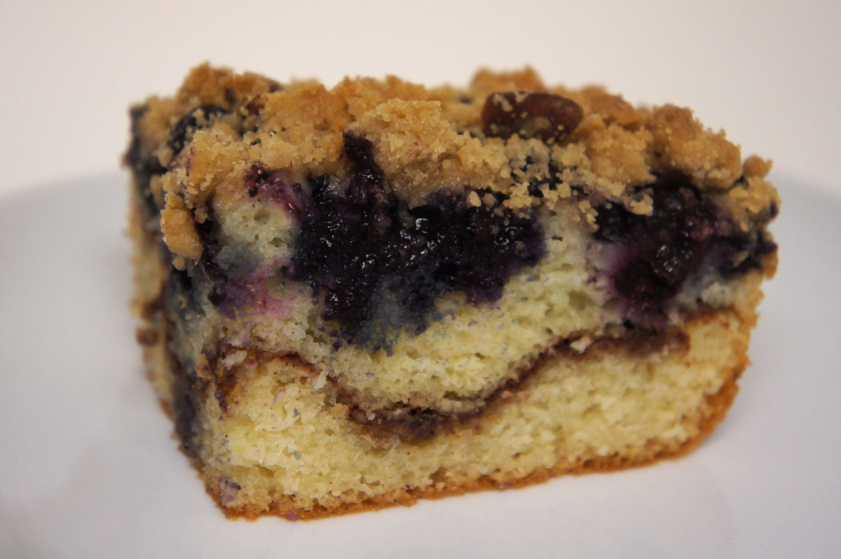 Recipe Review: Old-Fashioned Blueberry Coffee Cake ...