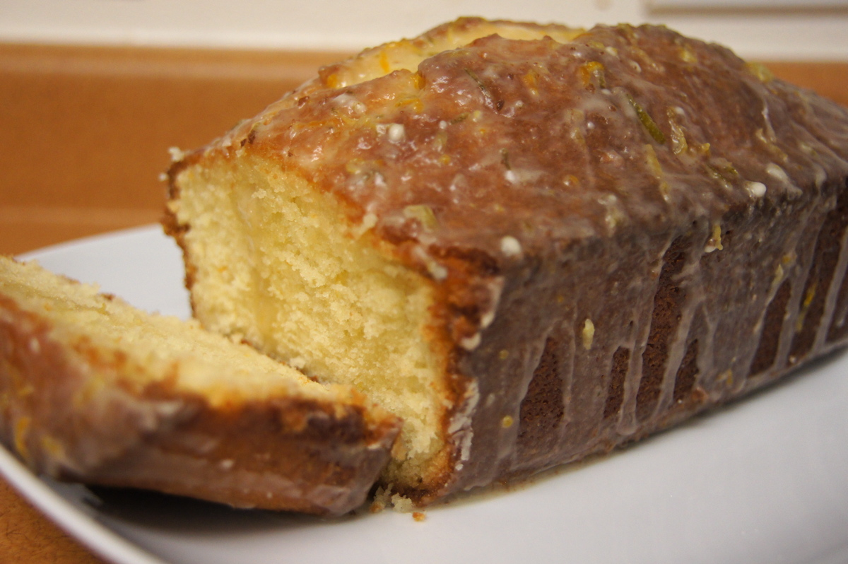 Recipe Review: Cream Cheese Pound Cake with Citrus Glaze