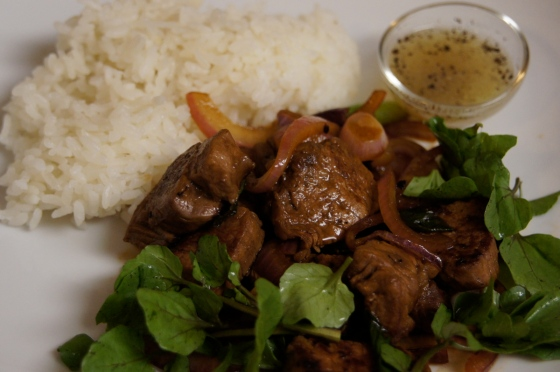 Charles Phan Home Vietnamese Cooking Shaking Beef