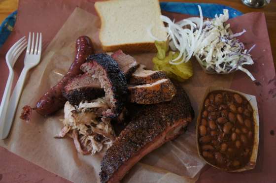 Franklin Barbecue Brisket, Pork Rib, Pulled Pork, Turkey, Sausage