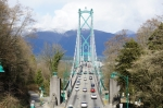 Lion's Gate Bridge, Stanley Park, Vancouver