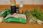 Ingredients for soy glazed chicken