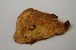 Whole-wheat raisin scone