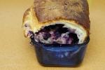 Blueberry brioche