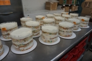 Lots of birthday cake orders!