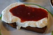 Ricotta and Jam Toast
